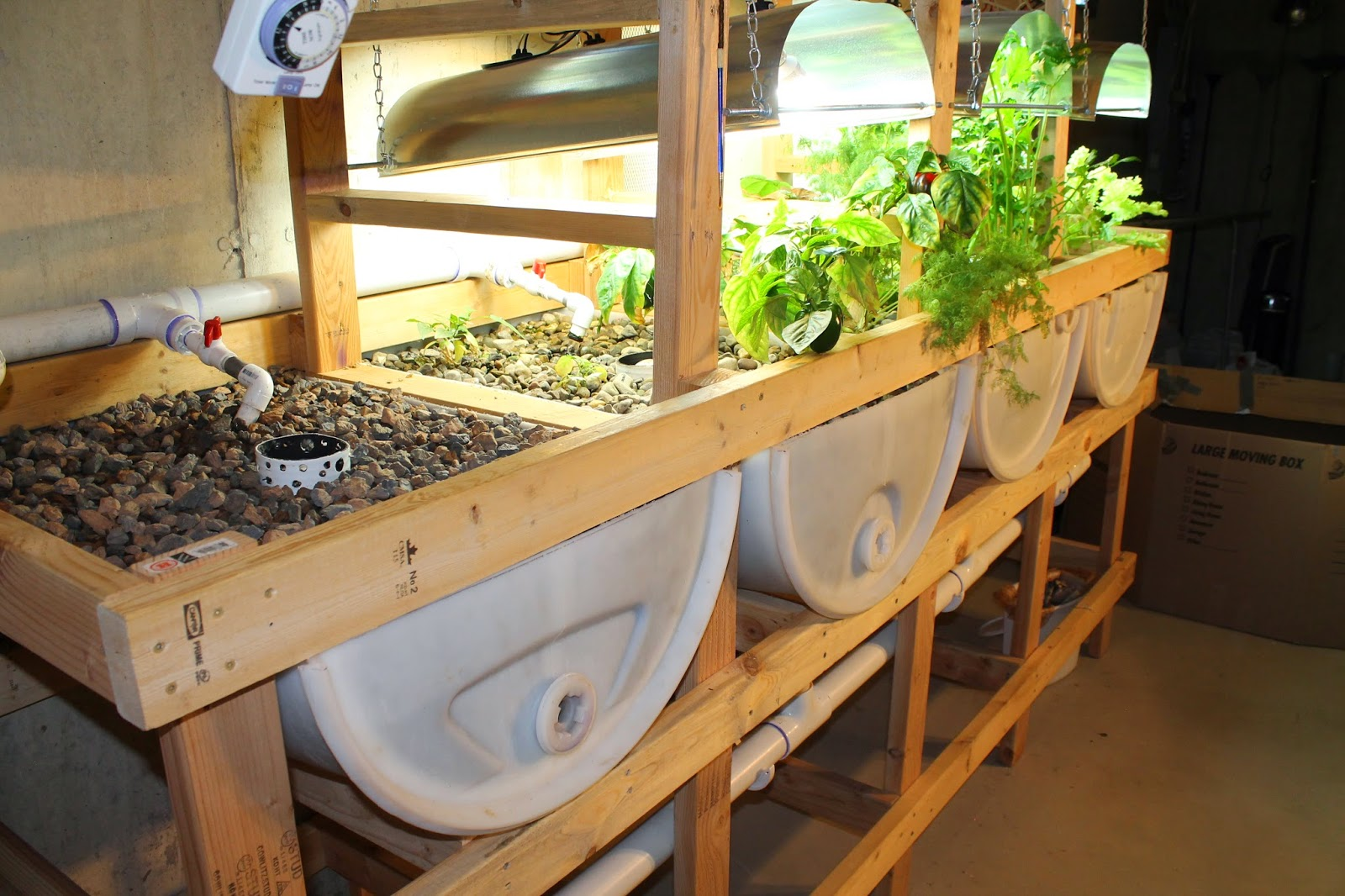 Aquaponics system design selecting grow beds simple for Aquaponics grow bed