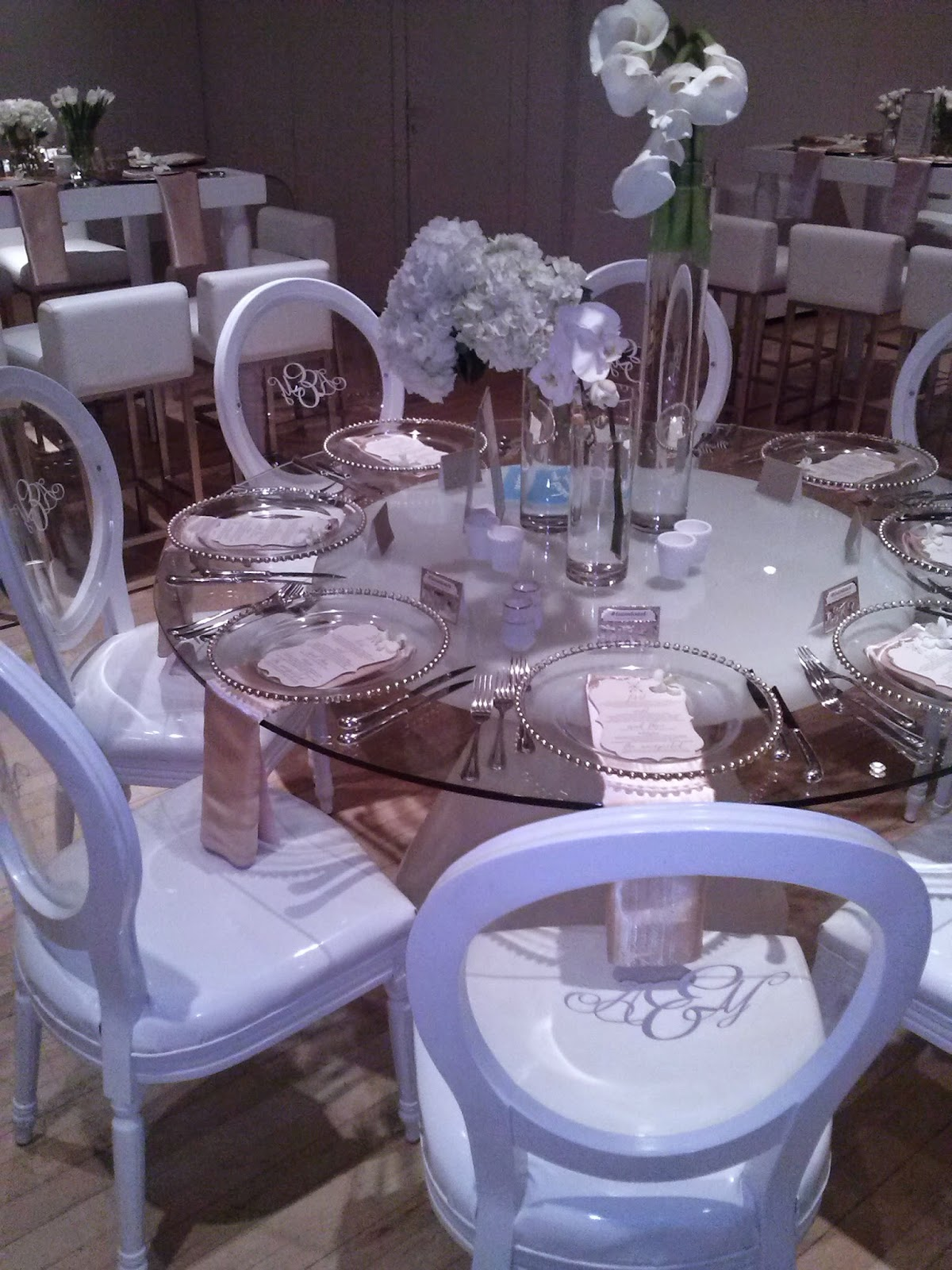 Ghost Chairs for a wedding