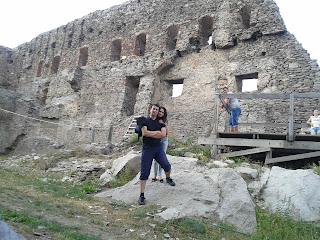 Cetatea Deva: curtea interioara