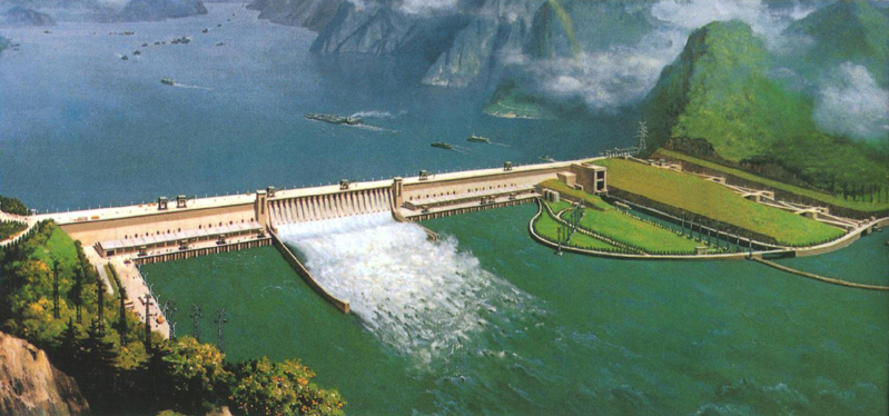 an analysis of the yangtze river which is also called gorges dam