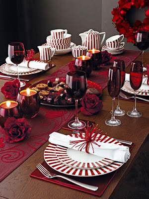 how to make an anniversary dinner table special decoration