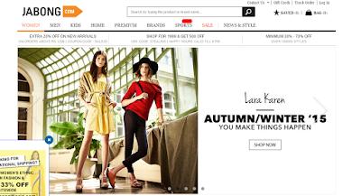 online shopping from jabong.com