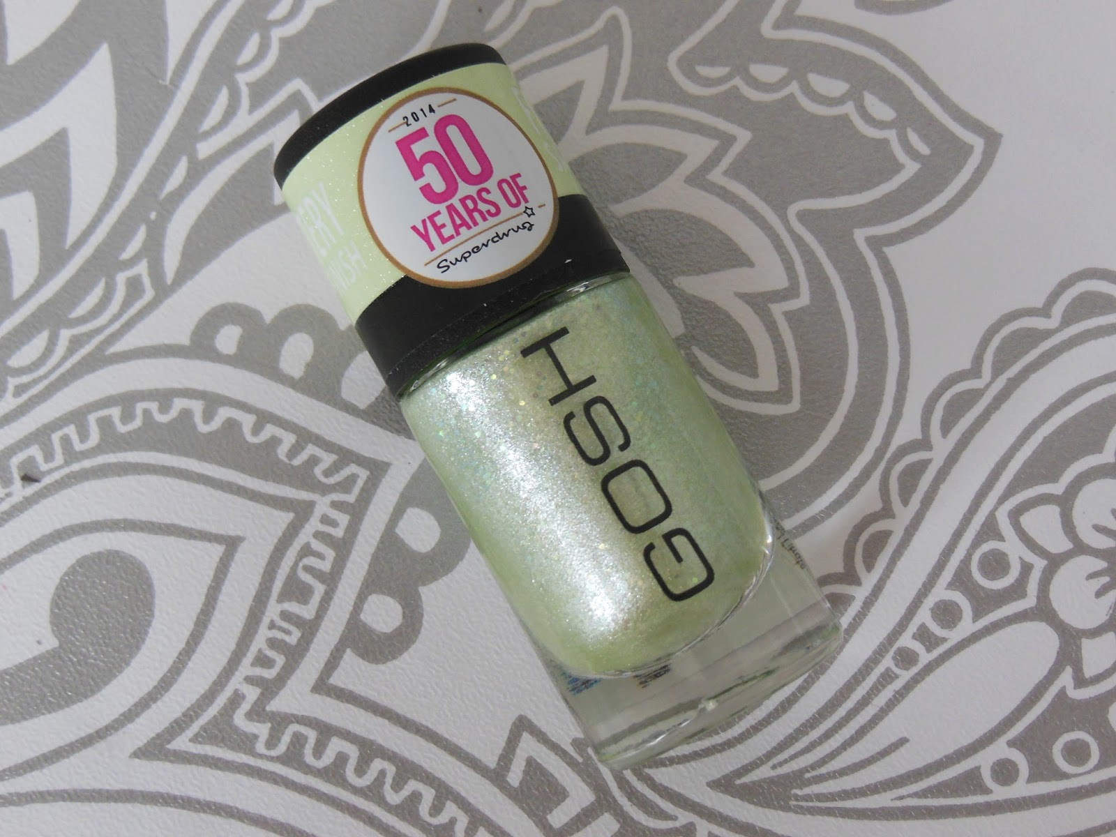 GOSH limited edition nail polish for superdrug