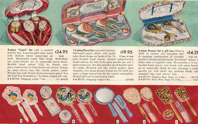 1950s christmas gifts