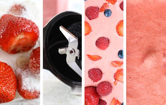 Diamant Eiszauber für Früchte – Zubereitung von Gesichtspunkte