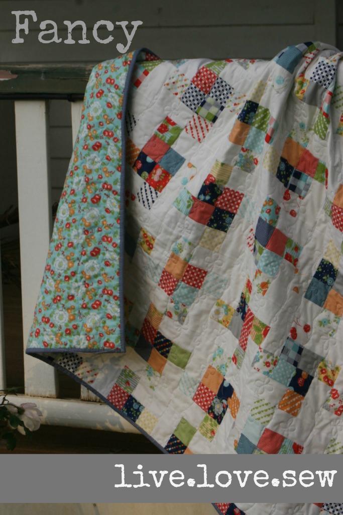 Fancy: A Jelly Roll Lap Quilt Â« Moda Bake Shop : moda quilt shop - Adamdwight.com