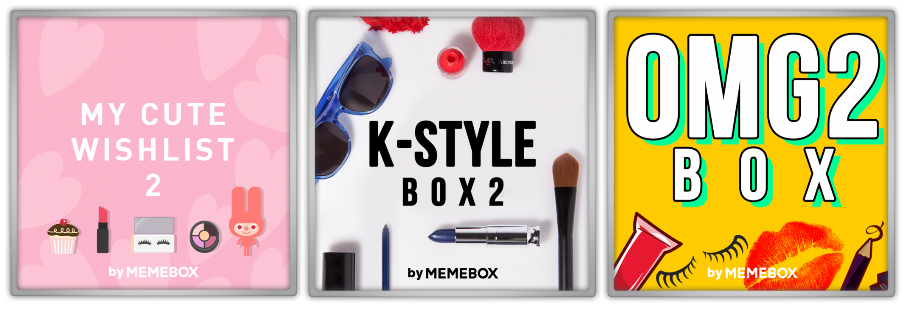 Memebox Special 32 OMG 2 33 K-Style Superbox 51 My Cute Wishlist VIP 미미박스 Commercial discount sale