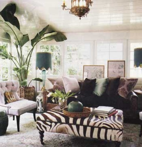 decoracao sala zebra : decoracao sala zebra:Interiores Estilo Zebra