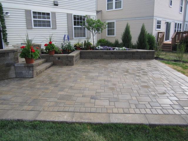how to build a raised paver patio patio design ideas
