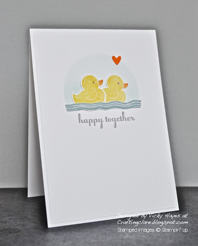 Buy Something for Baby by Stampin' Up online from UK independent Stampin' Up demonstrator Vicky Hayes