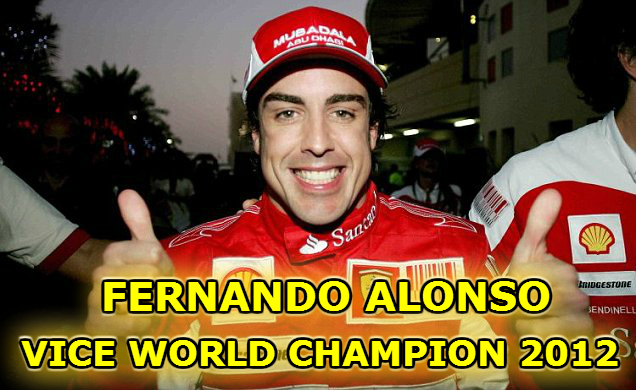 fernando alonso f1 vice world champion 2012 master tutak radio