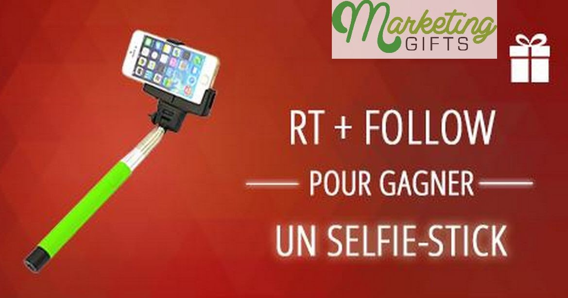 marketing gifts free selfie stick by gifted france. Black Bedroom Furniture Sets. Home Design Ideas