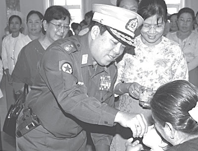 ဒုဗုိလ္ခ်ဳပ္ႀကီးေ၀လြင္ နုိင္ငံေရးစင္ေပၚ ေရာက္လာျခင္း – Lt-Gen Wai Lwin goes to Parliament