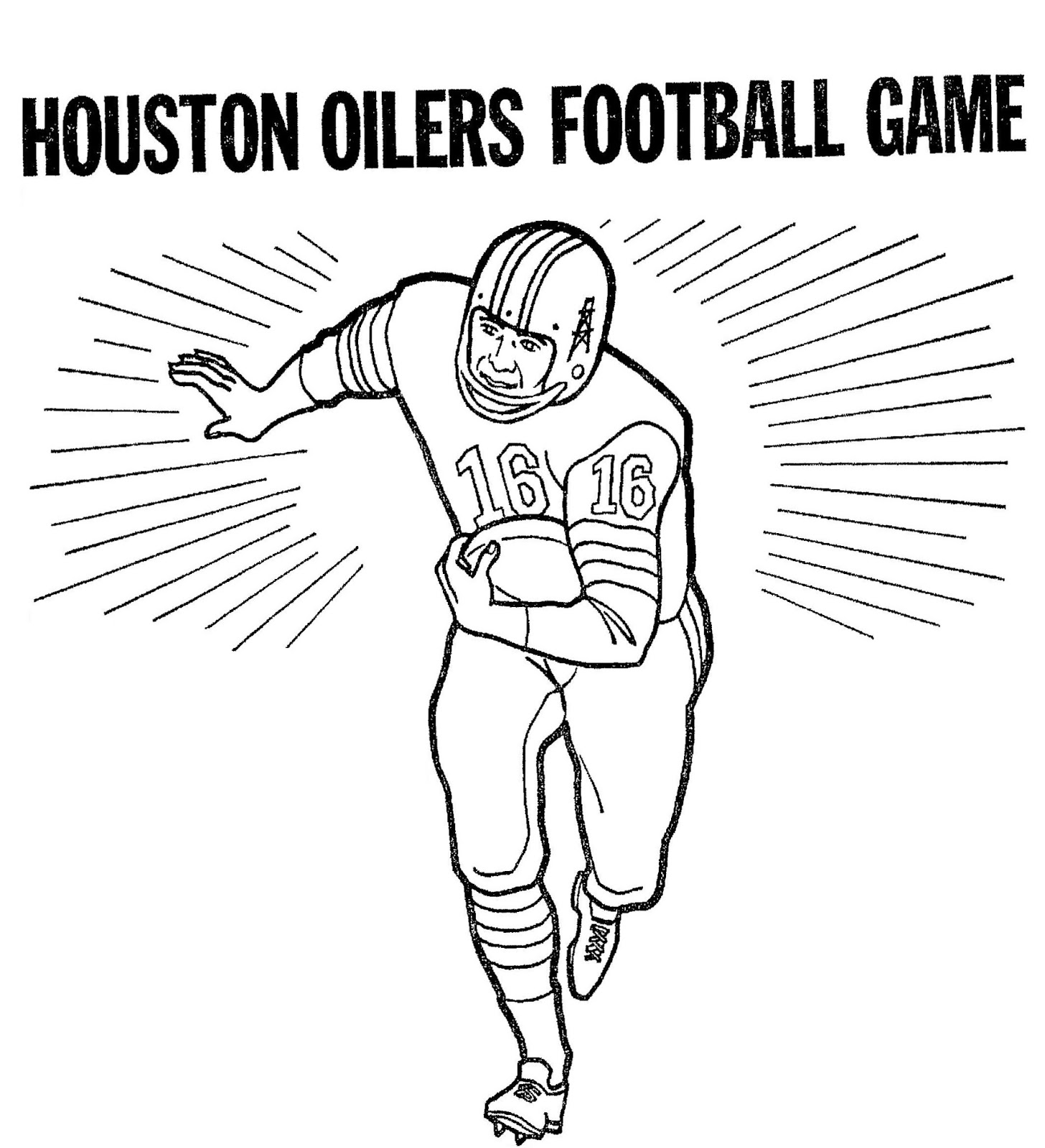 oilers coloring pages - photo#14