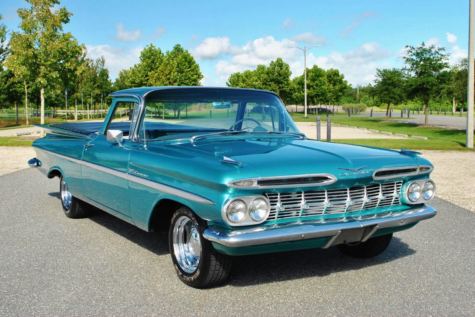 1959 chevrolet el camino v8 factory ac muscle car monday. Black Bedroom Furniture Sets. Home Design Ideas
