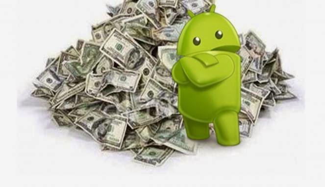 Aplikasi Cari Uang di Smartphone Android