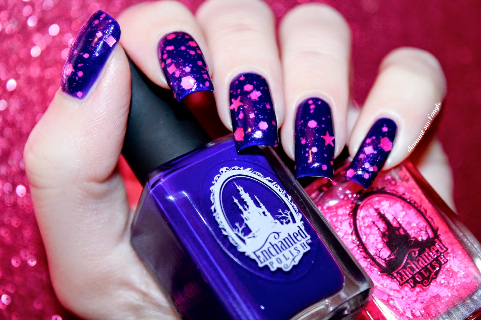 Regal and Life in Plastic, it's Fantastic from Enchanted Polish