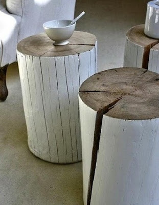 DIY trunk table