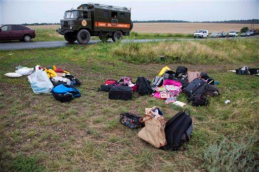 Malaysia Airlines Flight MH17:'Bodies Fell From the Sky'-Witnesses