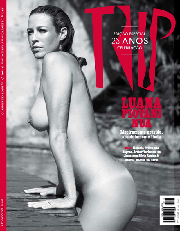 Revista Playboy Luana Piovani
