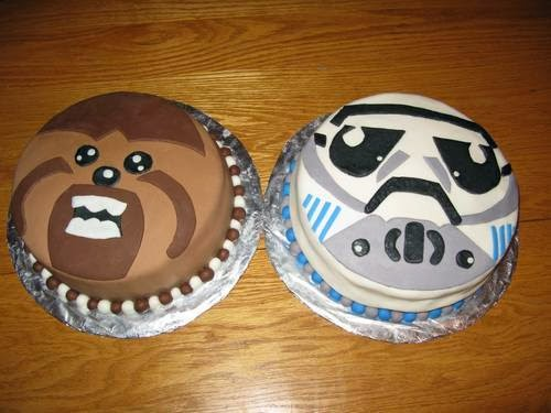 Simple Star Wars Cake