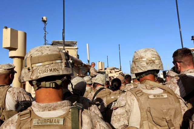 Military News - Marines pull out of Afghanistan's Nimroz province