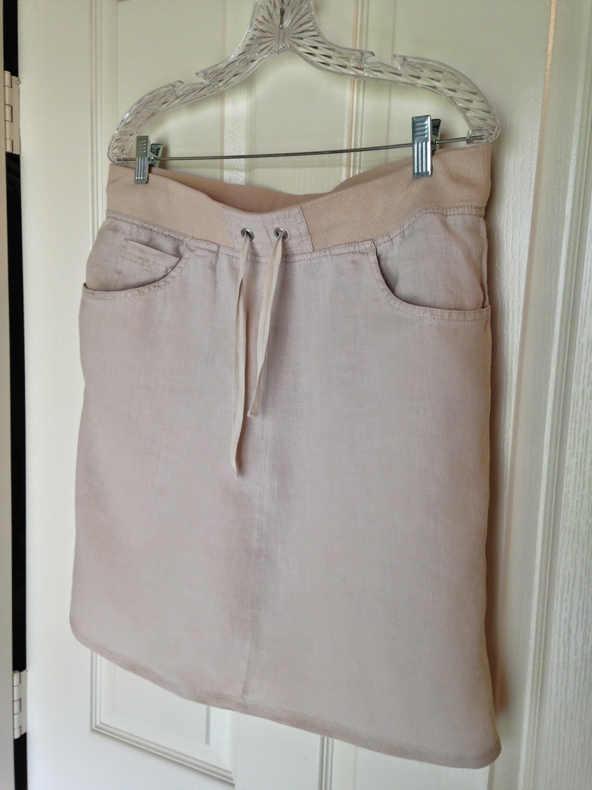 Ulterior Alterations: Linen Pant to Skirt Refashion Complete
