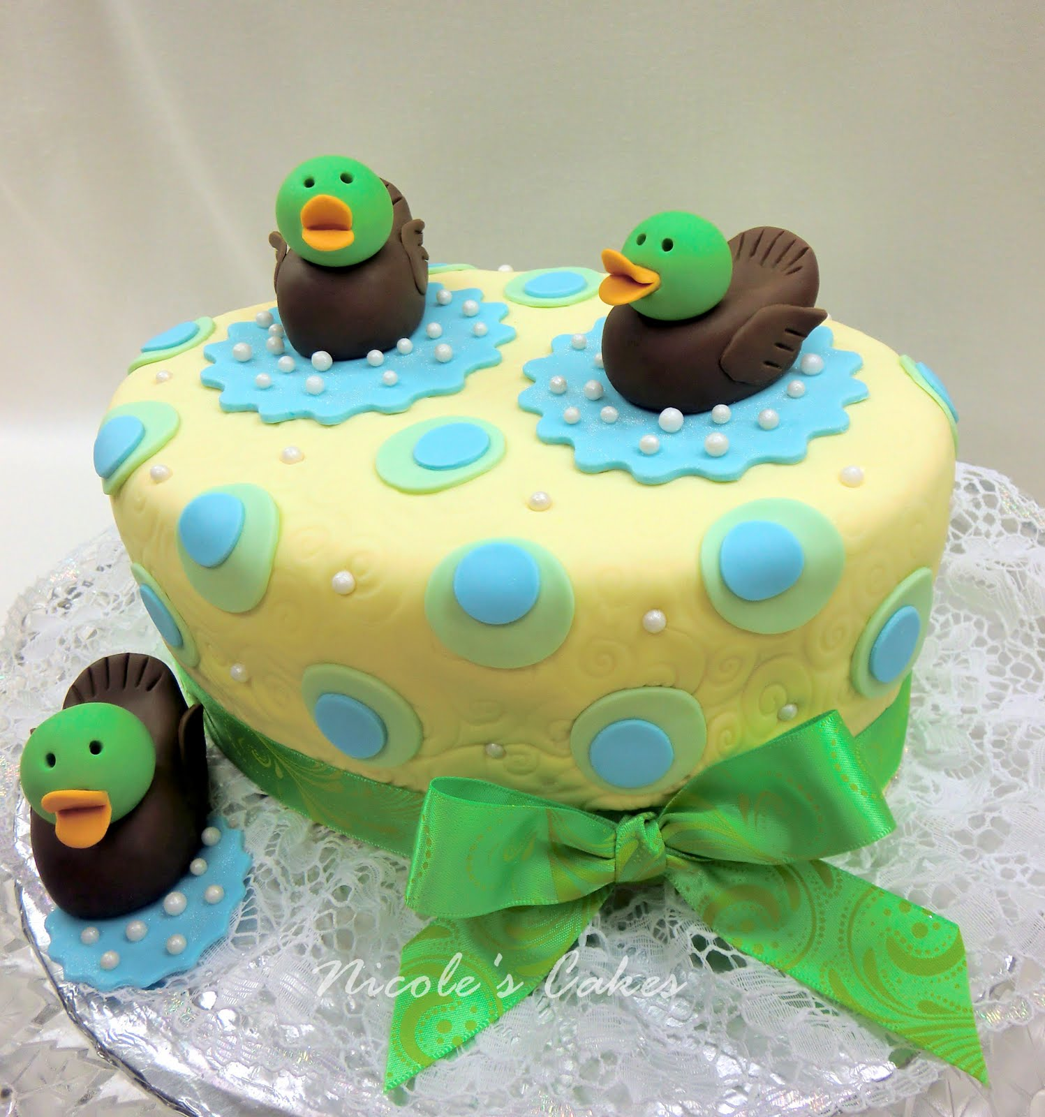 Birthday Cakes Just Ducky A Baby Shower Cake