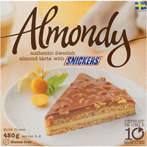 Tarte au daim almondy ikea