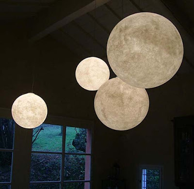 The Ocilunam Luna Pendant Light Globe Lighting