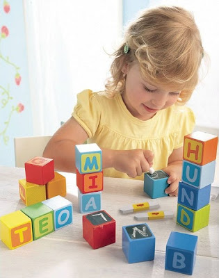 Building Blocks First Letter Fun