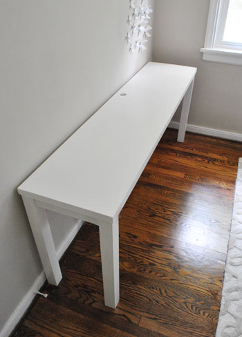 Turning a House into a Home {creating beauty on a budget}: DIY Desk