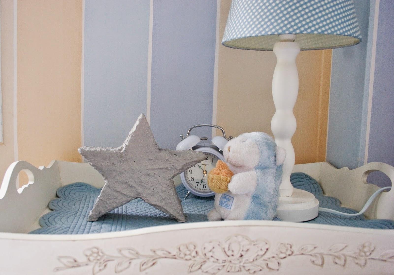 Diy estrella de cemento con espuma floral | DEF Deco - Decorar en familia5