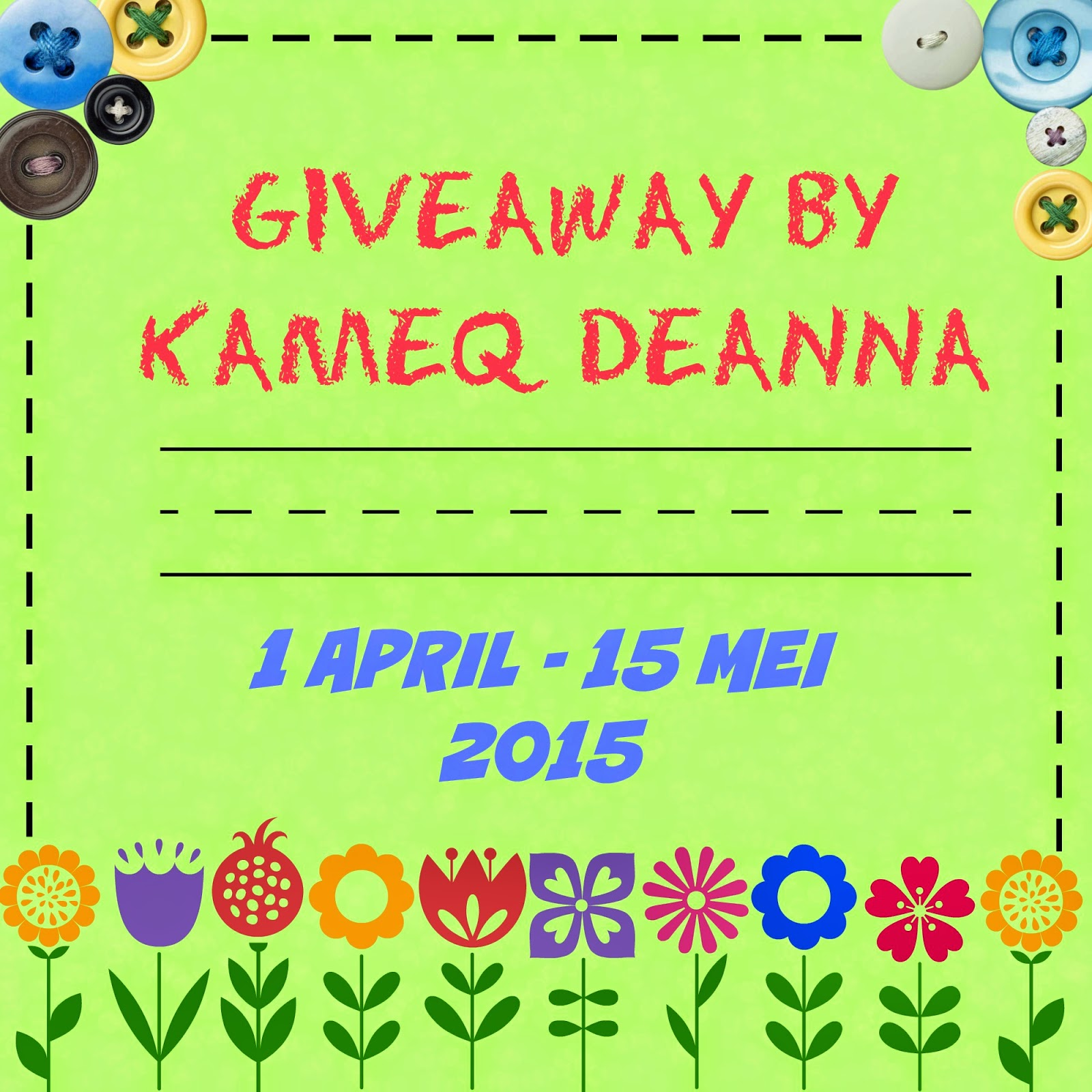 http://kameqdeanna.blogspot.com/2015/04/giveaway-by-kameq-deanna.html?showComment=1427857972905#c628691988525403325