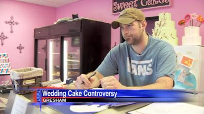 Sweet Cakes owner Aaron Klein