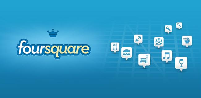 Foursquare el mejor sitio web para encontrar tus lugares de interés como restaurantes, parques, cines y compartirlos