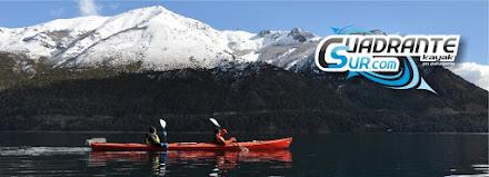 En Bariloche, cuadrante sur kayak.
