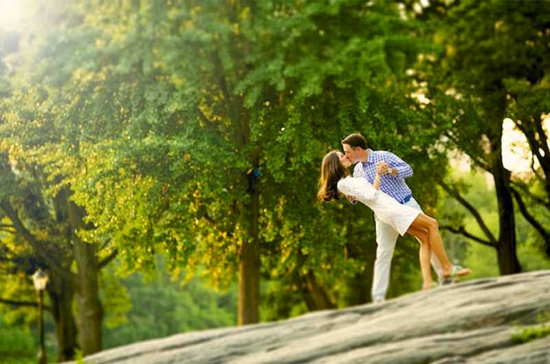 Beautiful Cute Love Couple Kiss Photography