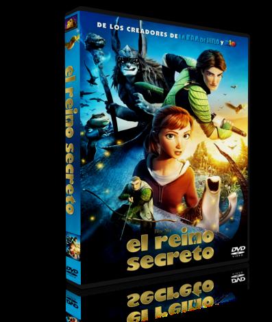 Epic el reino secreto 2013, DVDrip 1.63 GB, mp4, ac3, Latino