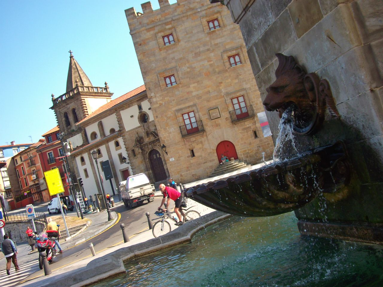 gijon asturias fuente pelayo
