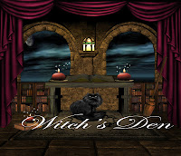Witch's Den digital fantasy backgrounds