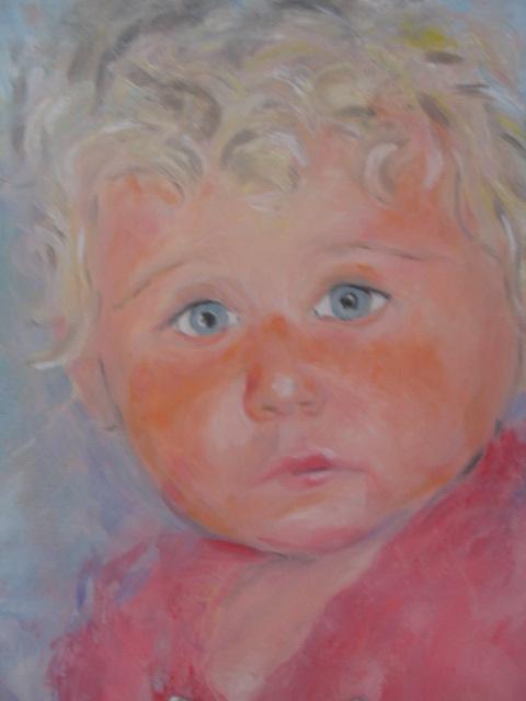 Obraz olejny Portret zamówienie prywatne