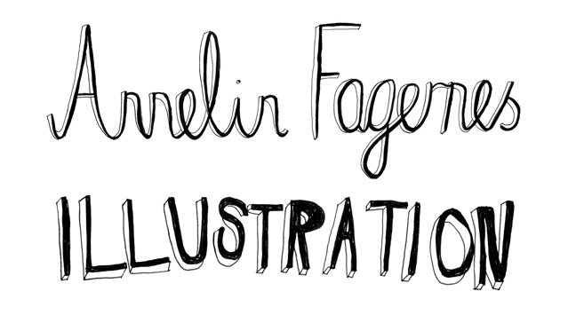 Annelin Fagernes Illustration