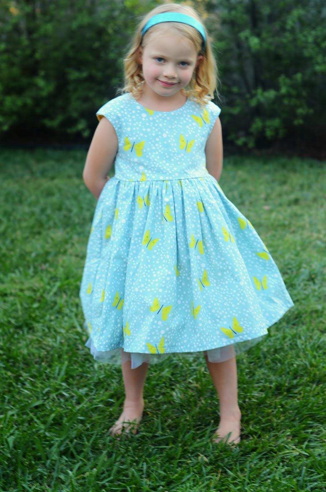 Modern Handmade: Butterfly Birthday {Caroline Party} Dress