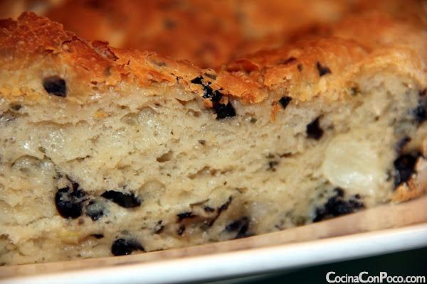 Pan aceitunas receta - sin gluten