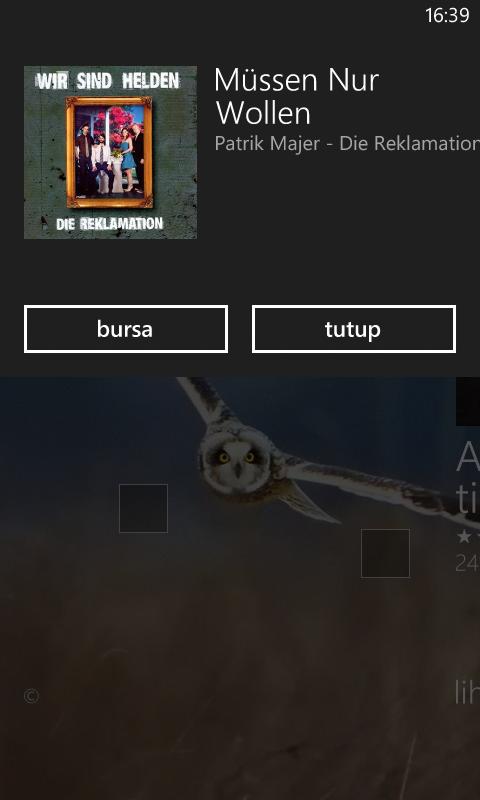 Mencari tahu judul lagu dengan Windows Phone