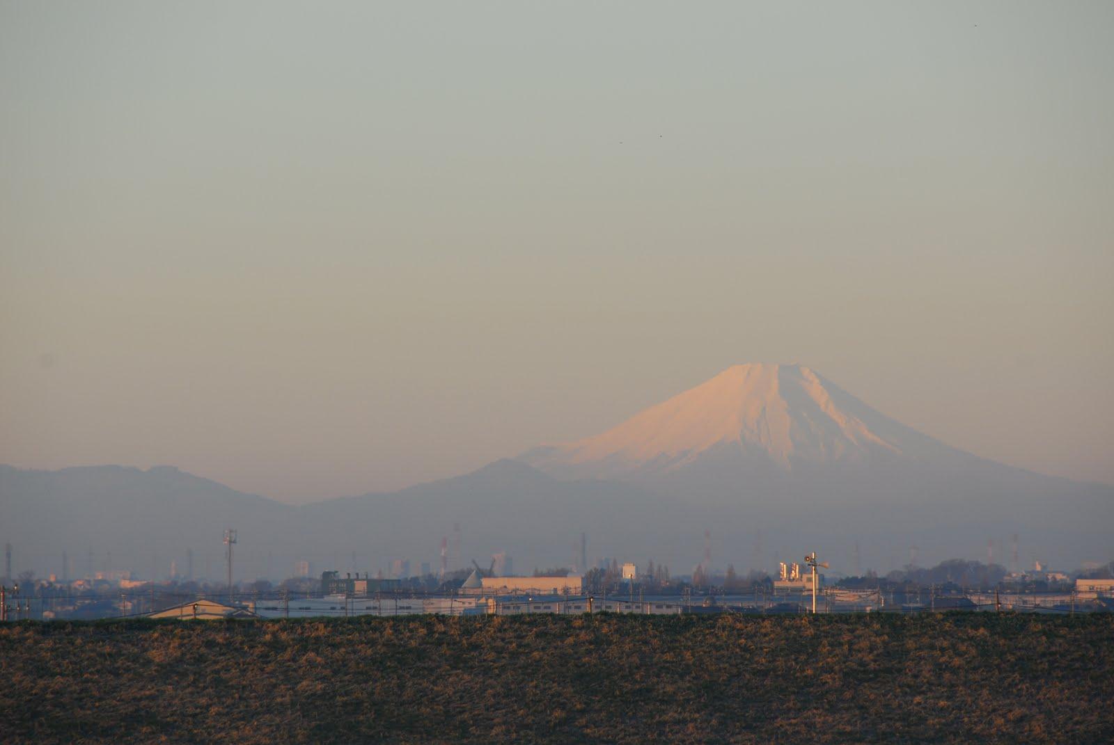 2017年 元旦 富士山