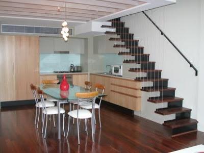 Journeytocharm minimalist interior design - Interior ladder stair design ...