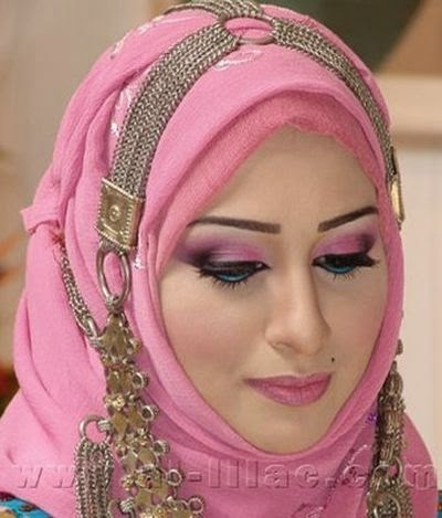 Hijab maquillage moderne