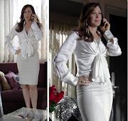 Lívia (Claudia Raia) com um fabuloso look Carmim!
